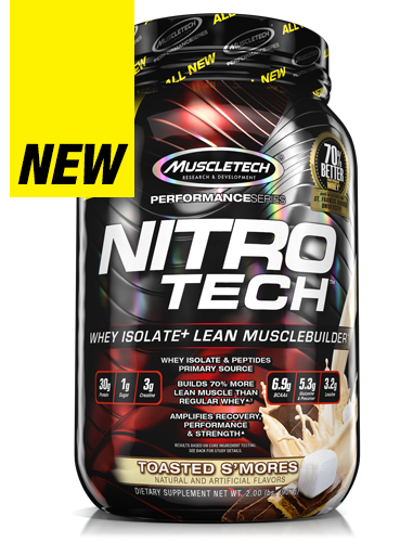 MuscleTech Nitro Tech Performance Series - Super Nutrition