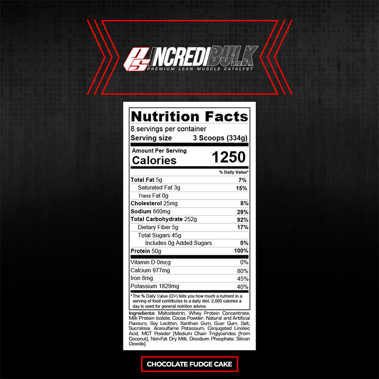 ProSupps Incredibulk - Super Nutrition