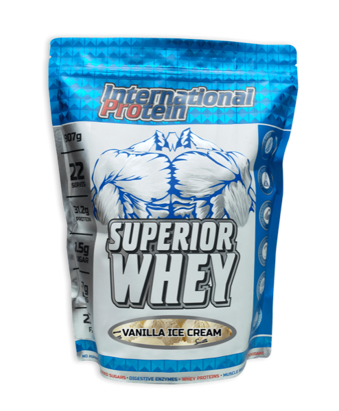 International Protein Superior Whey - Super Nutrition