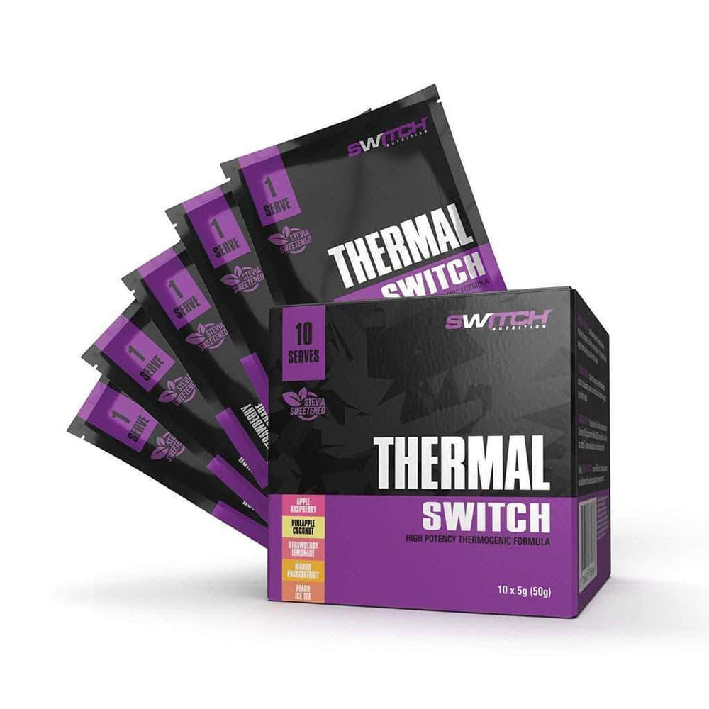 SWITCH NUTRITION THERMAL SWITCH MULTIPACK 10 SERVES - Super Nutrition