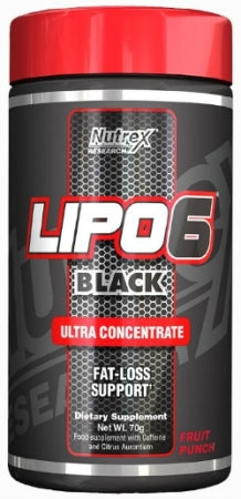 Nutrex Lipo - 6 Black (Powder) - Super Nutrition