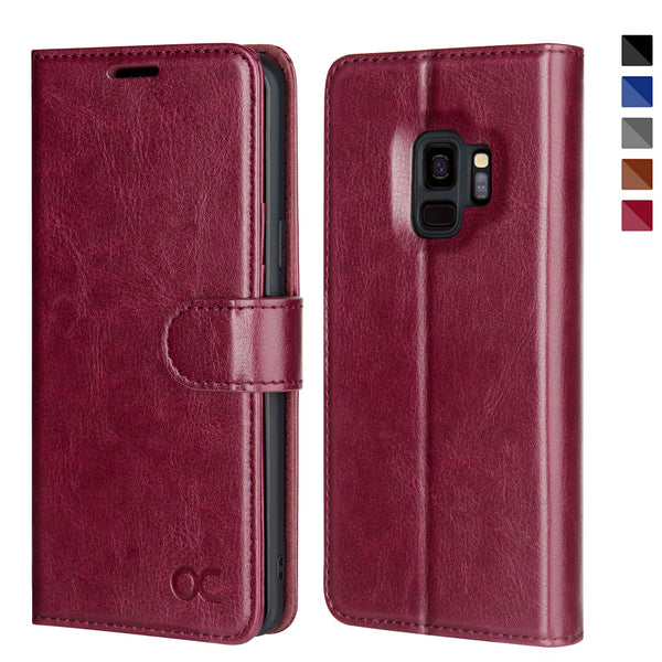 Samsung Galaxy S9 Case-Burgundy