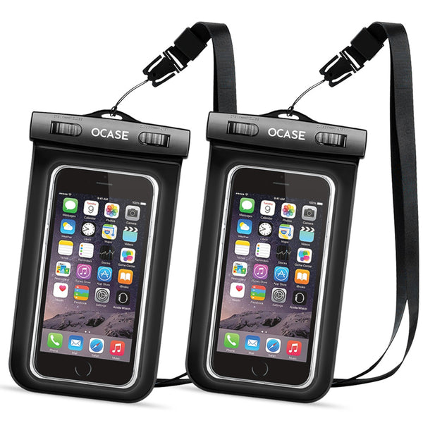 Universal Waterproof Case Two Packs-Black