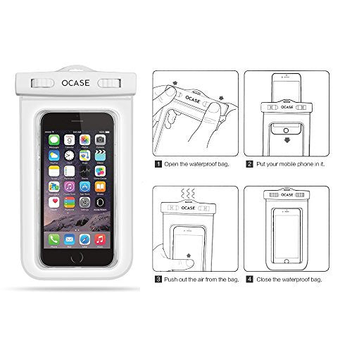 Universal Waterproof Case - White