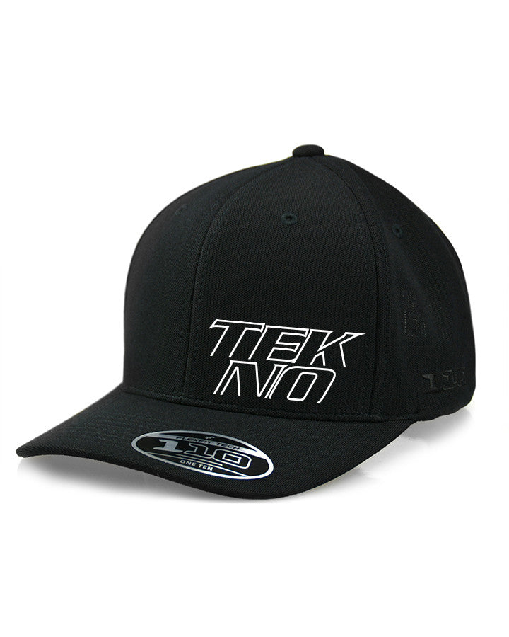 LIMITED EDITION TEKNO FLEXFIT® 110 STACKED LOGO CAP