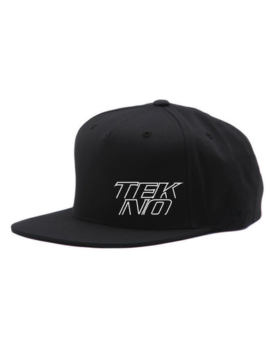 LIMITED EDITION TEKNO FLEXFIT® FLAT SNAPBACK STACKED LOGO CAP
