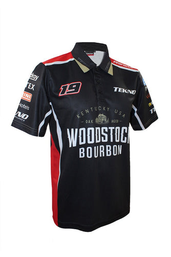 TEKNO Woodstock Racing Team Polo Shirt (Adults Unisex)