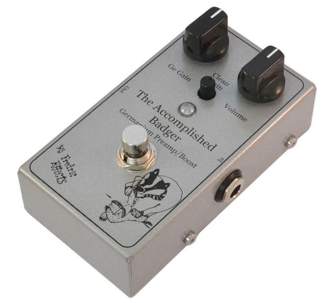 Fredric Effects The Accomplished Badger Two Stage Boost Pedal - ProTone Music