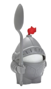 Knight Boiled Egg Holder Cup