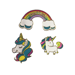 Unicorn Fantasy Pin Set- 3pcs