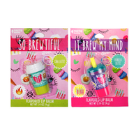 Taste beauty flavored latte lip balms