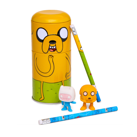 adventure time pencil case set