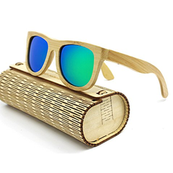 Unisex Atlantis Wooden Sunglasses