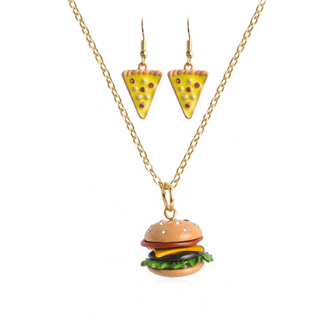 Junk Food Earrings & Necklace