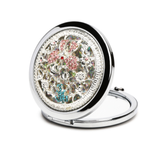 Embellished Magnifying Compact Mirror