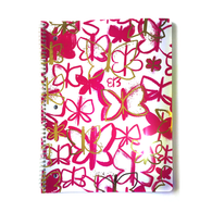 Pink & Gold Butterflies Notebook