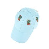 Embroidered Cactus Baseball Cap