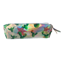 Holo Cactus Pencil Case