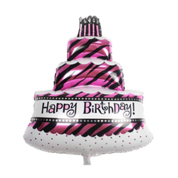 Birthday Cake Mylar Balloon