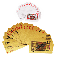 Deluxe Gold Foil Playing Cards Combo