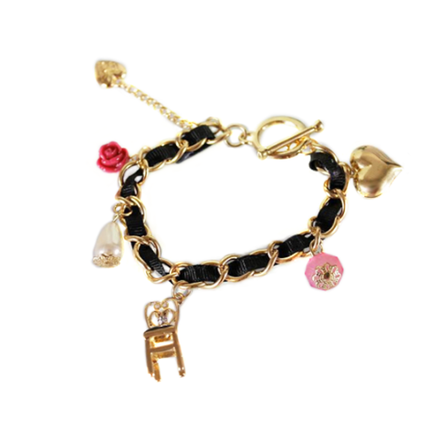 Princess Elements Charm Bracelet