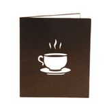 Morning Coffee 3D Pop Up Card