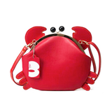 Happy Crab Crossbody Bag