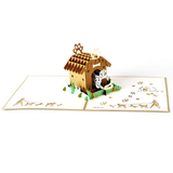Puppy 3D Pop Up Card