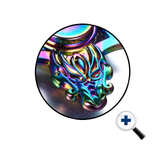 Dragon's Head Iridescent Fidget Spinner