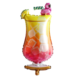 Tropical Drink Mylar Balloon