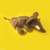 Safari Elephant Plush Pencil Case