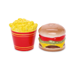 Junk Food Salt & Pepper Shakers