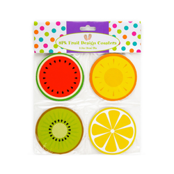 Fruit Drink Coaster - Set of 8