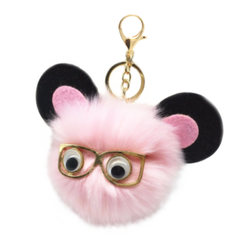 Smart Mouse Fur Keychain