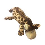 Safari Giraffe Plush Pencil Case