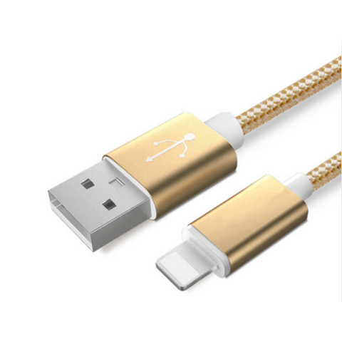 Gold 3ft Lightning Cable