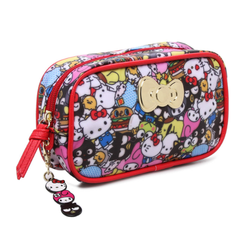Hello Kitty Makeup Bag with Keychain