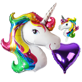 mylar unicorn ballon set