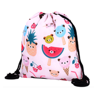 Kawaii Drawstring Backpack