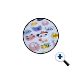 Kawaii Animals Puffy 3D Stickers