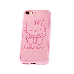 Embossed Kitty Case for iPhone 6, 6+, 7