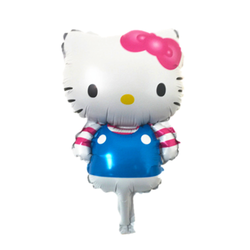 Casual Kitty Mylar Balloon