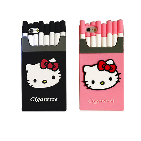 Kitty Cigarettes Case for iPhone 6