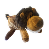 Safari Lion Plush Pencil Case