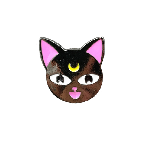 Luna Cat Pin