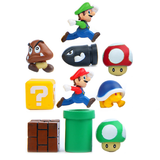 Super Mario Fridge Magnet Set- 10pc