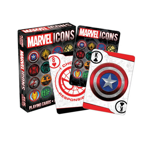 Marvel Icons Superheroes Playing Cards
