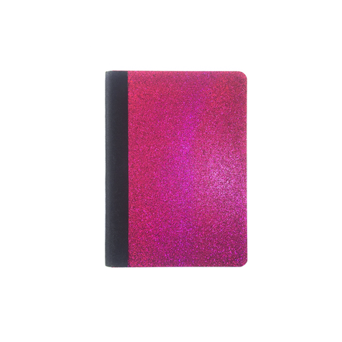 Pink Glitter Mini Composition Notebook