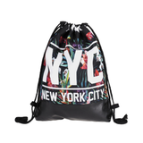 New York City Drawstring Backpack