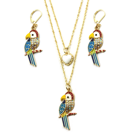 Rio Earrings & Necklace Set